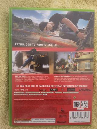 juego Xbox 360 Tony hawk proyect 8