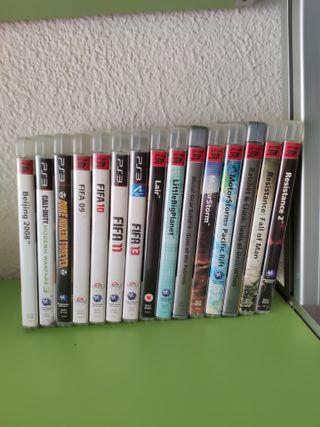 Colección juegos PS3