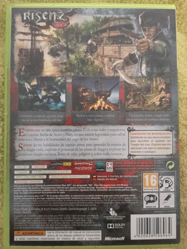 juego Xbox360 risen 2