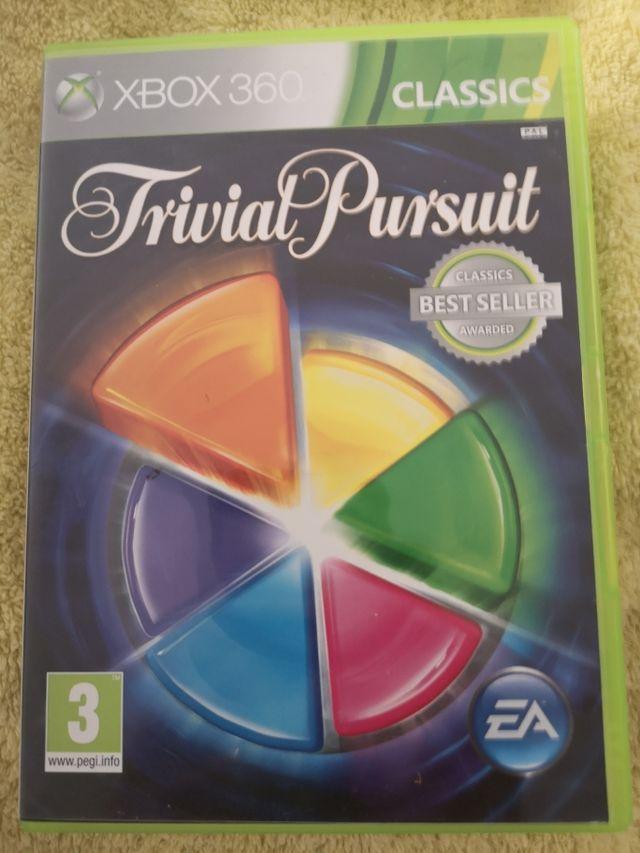 juego Xbox 360 trivial pursuit