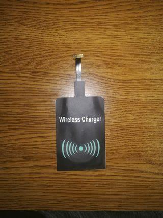 Adaptador para cargador Qi para teléfonos moviles