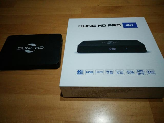 Dune HD PRO 4K reproductor multimedia