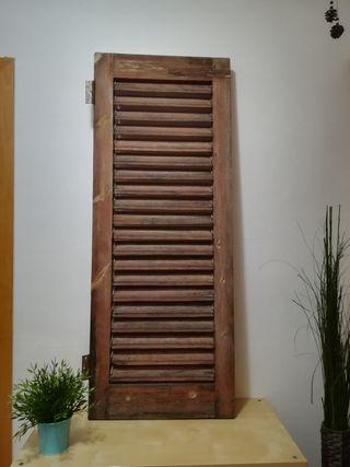 Ventana Madera a Restaurar Vintage 125x 48,5cm