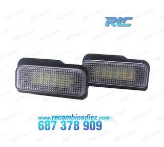 Luces de matrícula LED Mercedes-Benz Clase C W203