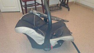 Carro bebé+Portabebés