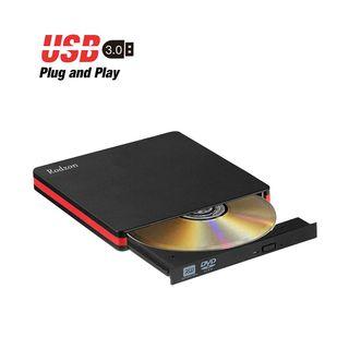 Grabadora CD/DVD Externa USB 3.0