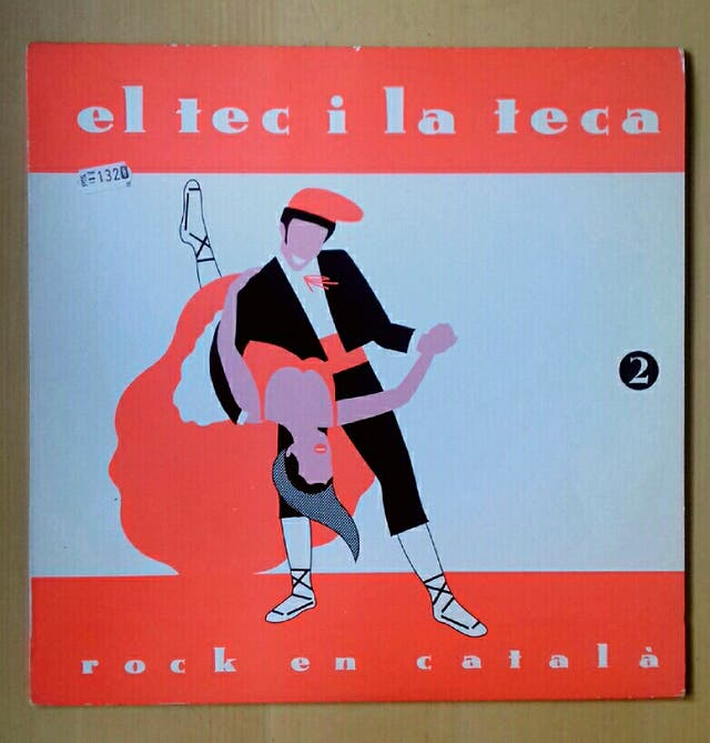 Disco vinilo El Tec i la Teca