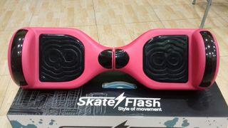 Hoverboard k6 skate flash rojo