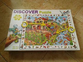 Puzzle Diset 70 piezas
