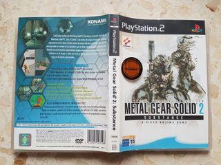 Metal Gear Solid 2 Substance Primera Edicion PS2