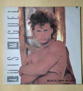 Disco vinilo Luis Miguel