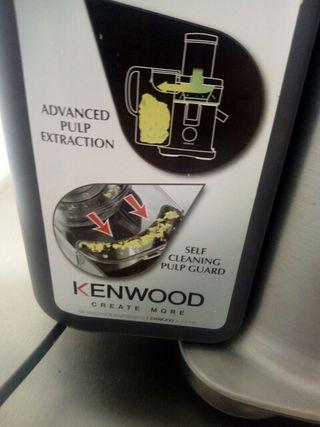 Licuadora extractora pulpa Kenwood