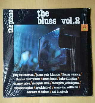 Disco vinilo 'The Blues' Vol. 2. The piano