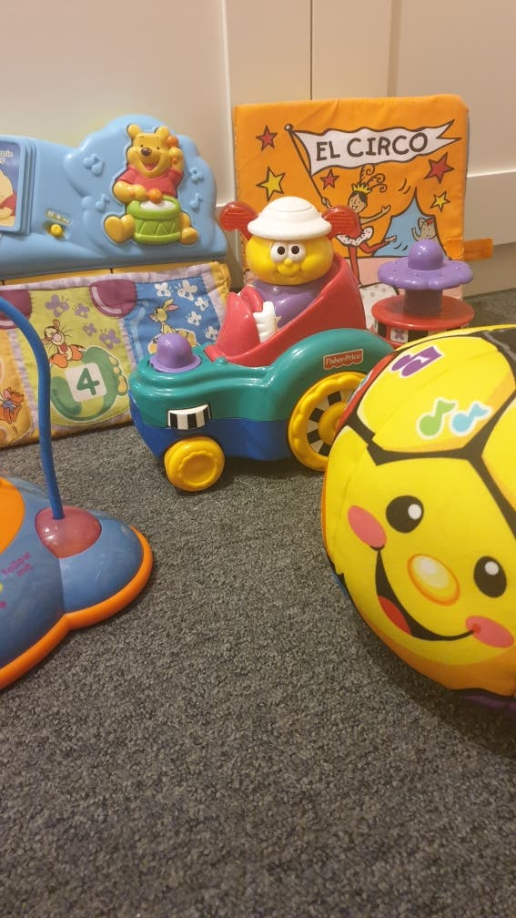 Lote bebé, juguetes