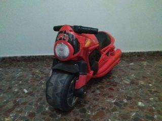 Cambio moto niño por patinete