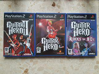Pack Guitar Hero PS2