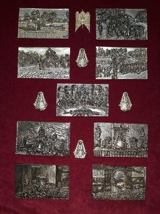 Medallas Virgen del Rocio