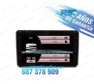 "RADIO 8"" SEAT USB GPS TACTIL HD"