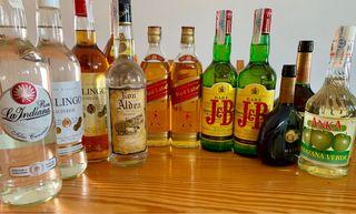 Lote Diversas bebidas