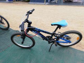 vendo bici montenbike de niño con marchas