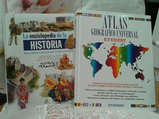 ENCICLOPEDIA Y ATLAS UNIVERSAL