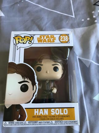 Funko POP star wars Han solo 238