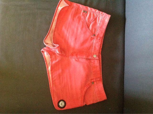 Shorts Roxy rojos