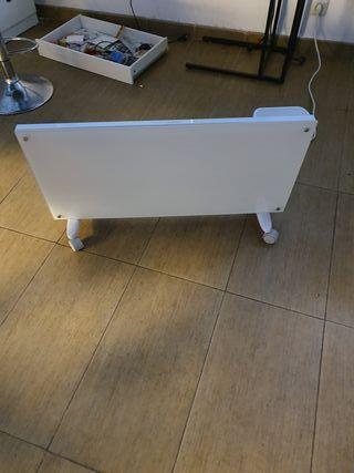 radiator eléctrico, calefactor de vidrio