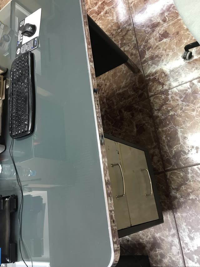 Mesa antigua oficina