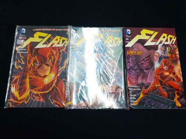 The Flash Cómics