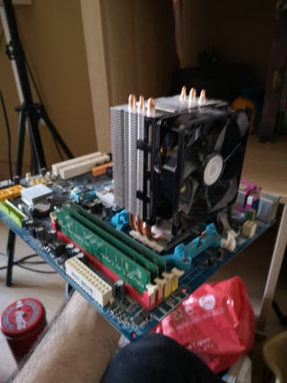 placa base AM2+3 gb ram+cpu athlonx2 +disipador