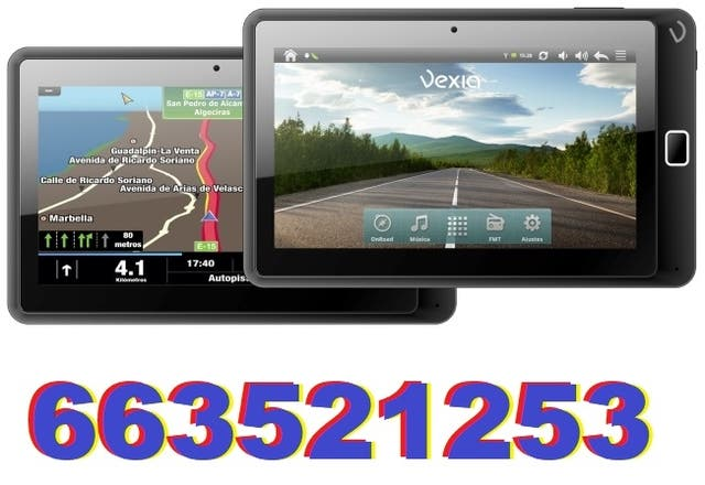 Navegador gps tomtom sygic igo truck tablet movil