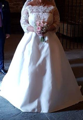 c8a1eb2f2 Vestido de novia talla 46 de segunda mano en la provincia de Málaga ...