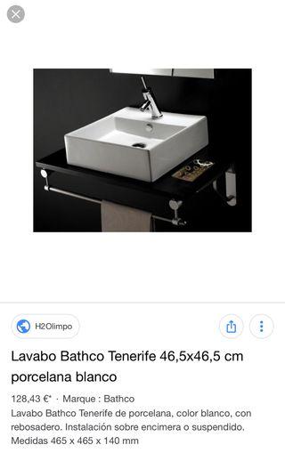 Lavabo Bathco modelo Tenerife