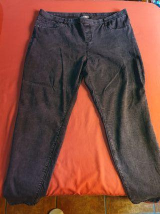 Pantalón gris azulado