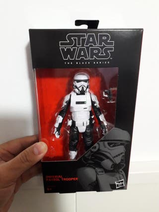 "Star Wars Black Series 6"" Imperial Patrol Trooper"