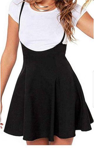 Vestido-falda con tirantes
