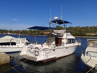 Vendo barco pesca paseo 8 metros