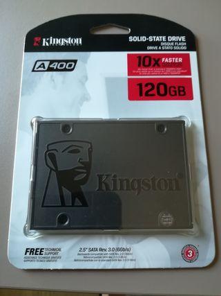Disco duro SSD A400 Kingston 120 GB