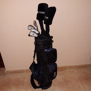 Juego de Palos de Golf Junior con bolsa