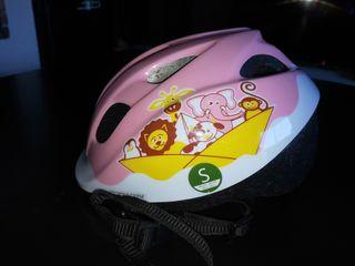 casco bicicleta talla s
