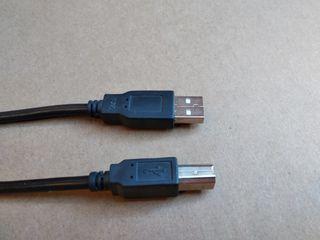 Cables USB a USB B, para impresoras y otros