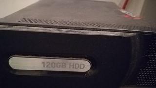 Consola Xbox 360 averiada