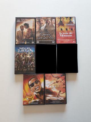 Película en DVD Cine Actual Lote 120