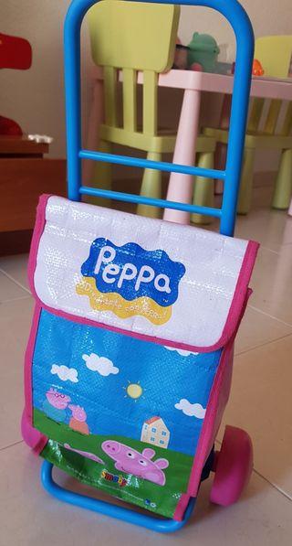 Carro de la compra de Peppa Pig