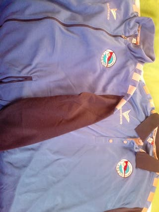 polo y chaqueta de chandal cd laredo