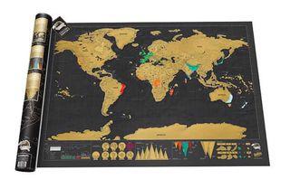 Mapa mundo deluxe