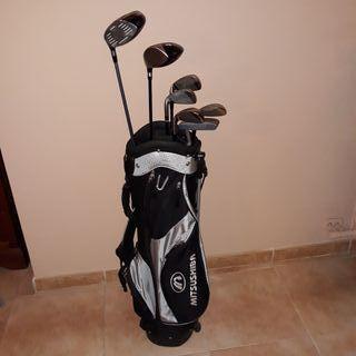 Juego de Palos de Golf con bolsa