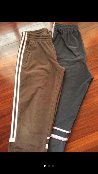Pantalón gris Adidas
