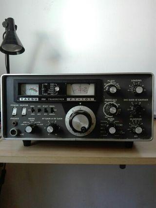 Radio emisora Yaesu ssb transceiver ft 101